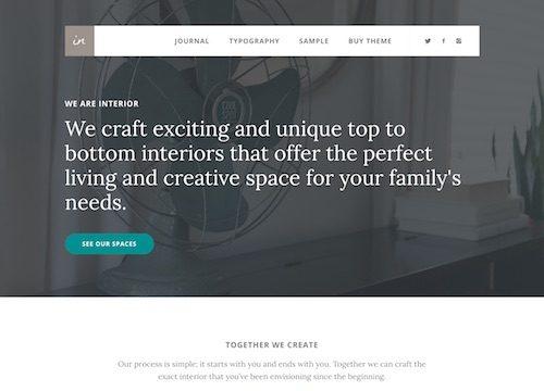 Interior Pro WordPress Theme