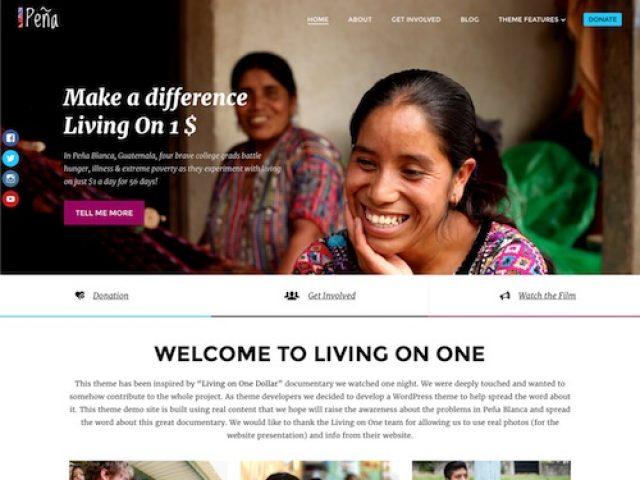Pena – Non Profit Charity WordPress Theme