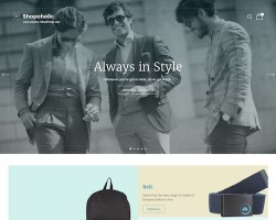 Shopoholic Ecommerce WordPress Theme