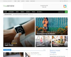 True Review Magazine WordPress Theme