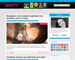 Authority Blog WordPress Theme