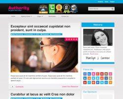 Authority Blog WordPress Theme