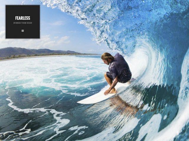 Fearless – Photography WordPress Theme