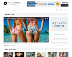 Hollywood Video WordPress Theme