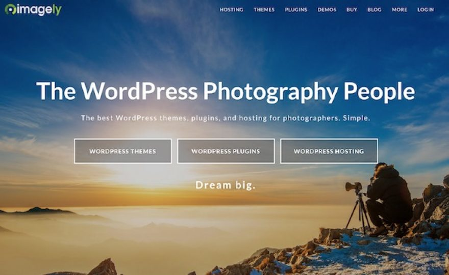 Imagely: WordPress Themes, Plugins & Hosting for Photographers