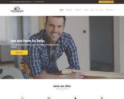 Technico – Business WordPress Theme