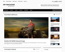 WP-Magazine WordPress Theme