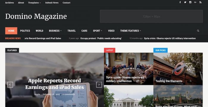 The Best Magazine WordPress Themes