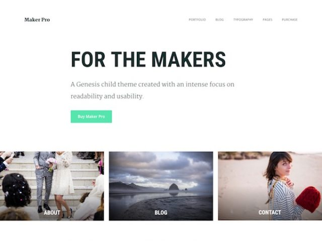Maker Pro WordPress Theme