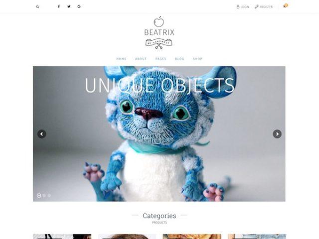 Beatrix WooCommerce WordPress Theme