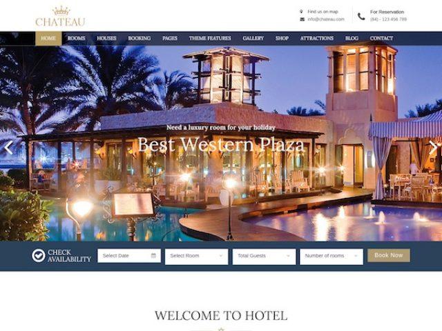 Chateau WordPress Theme