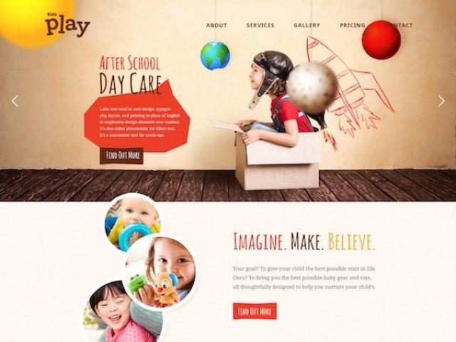 Kids Play WordPress Theme