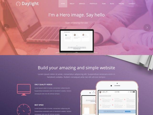 Daylight Business WordPress Theme