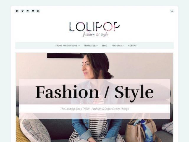 Lolipop Blog WordPress Theme