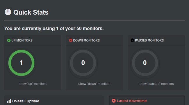 Best WordPress Uptime Monitoring Plugins in 2017