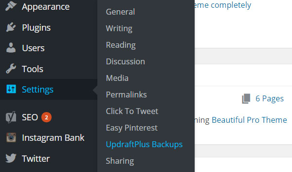 settings-updraftplus-backups