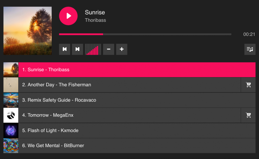 AudioIgniter – A Flexible Music Player Plugin for WordPress
