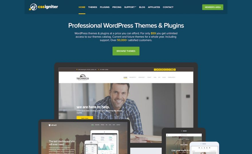 CSSIgniter Review: Beautiful Themes, Fantastic Value