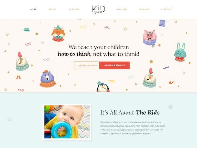 Kid Quest WordPress Theme