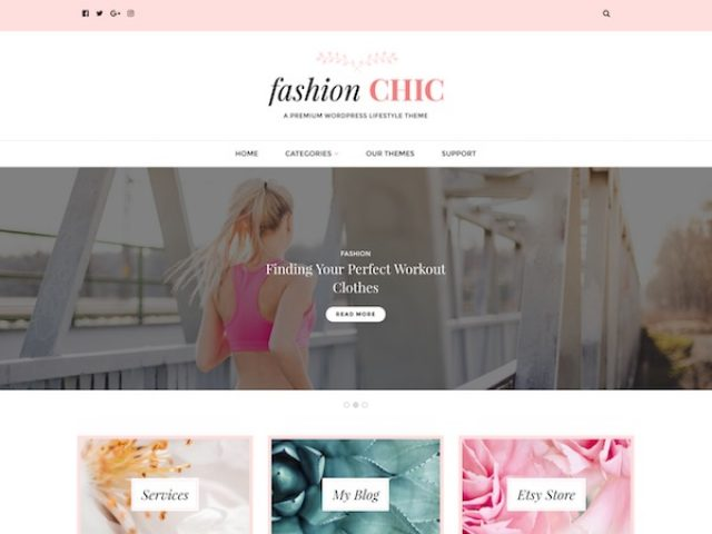 Fashion Chic WordPress Theme