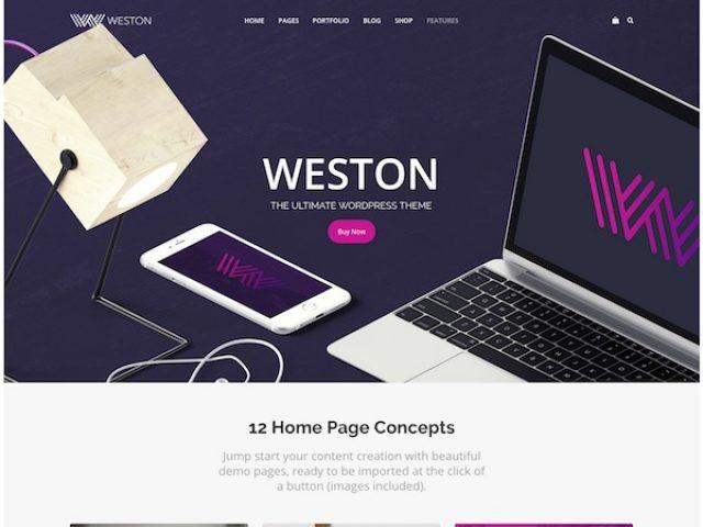 Weston – Mega Multipurpose WordPress Theme