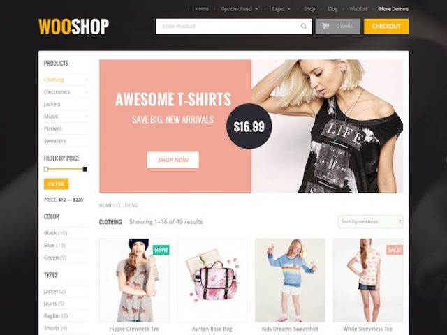 WooShop WordPress Theme