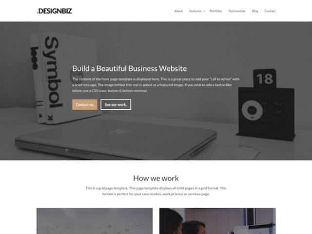 Designbiz Business WordPress Theme