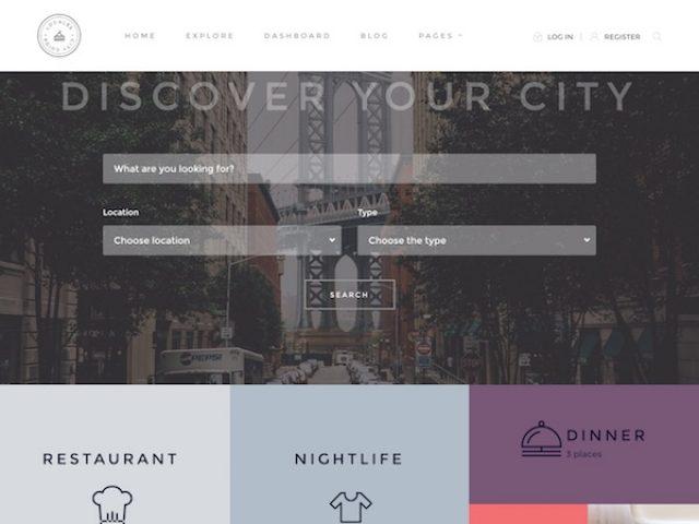 Locales WordPress Directory Theme
