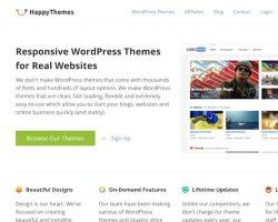 A New WordPress Theme Shop: HappyThemes