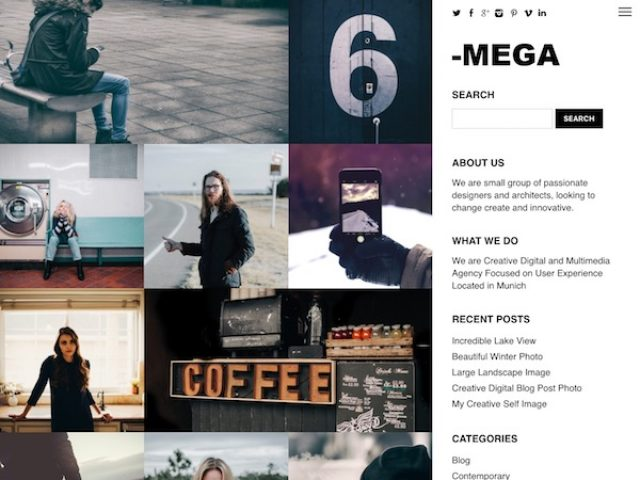 Mega Responsive WordPress Theme