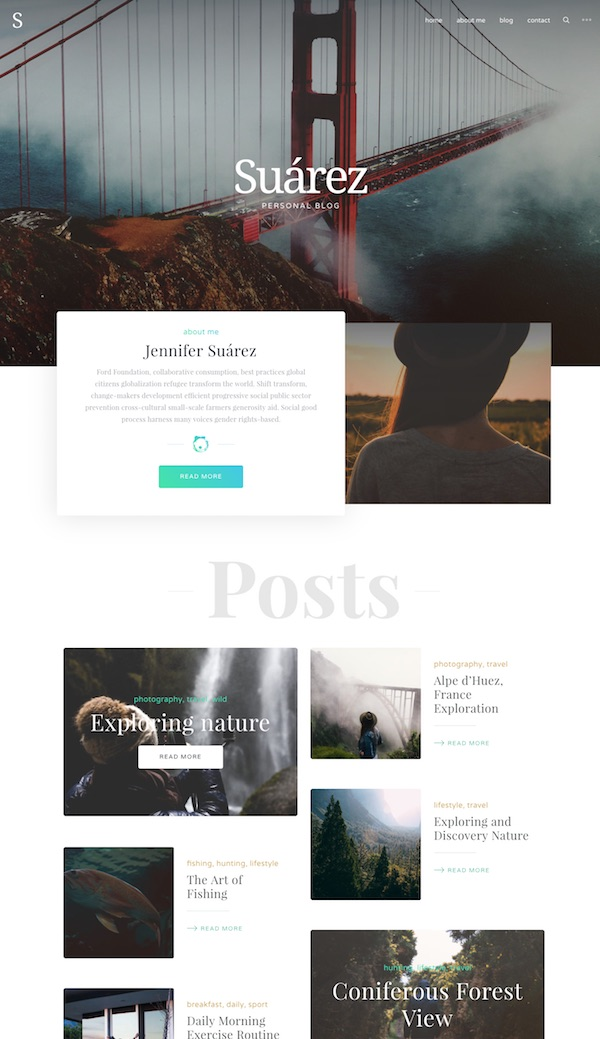 The premium theme was built with bloggers in mind and has a beautifully  clean, beautiful and modern design. It has a heap of powerful features that  will ...
