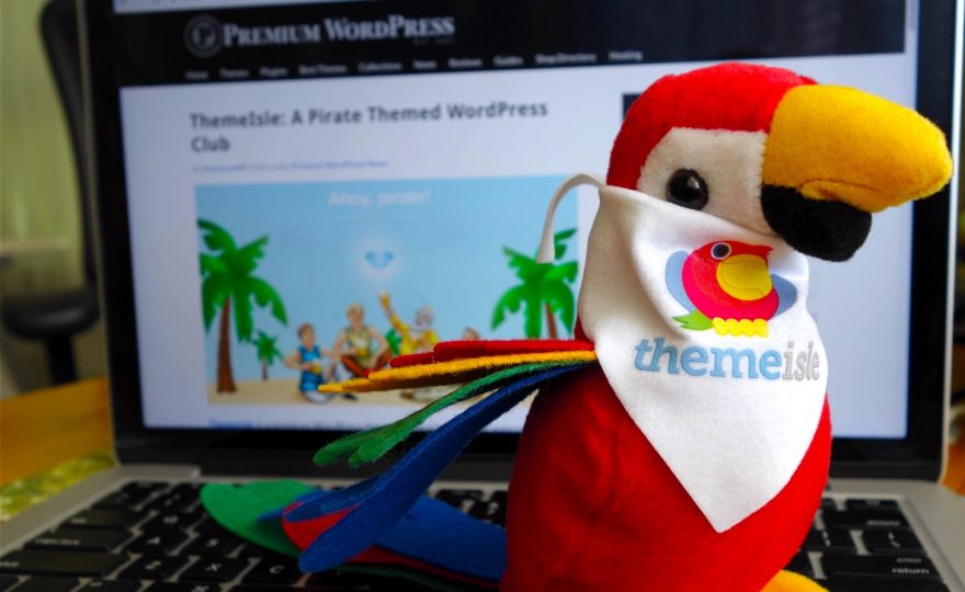 Meet Buck, ThemeIsle's Parrot Mascot