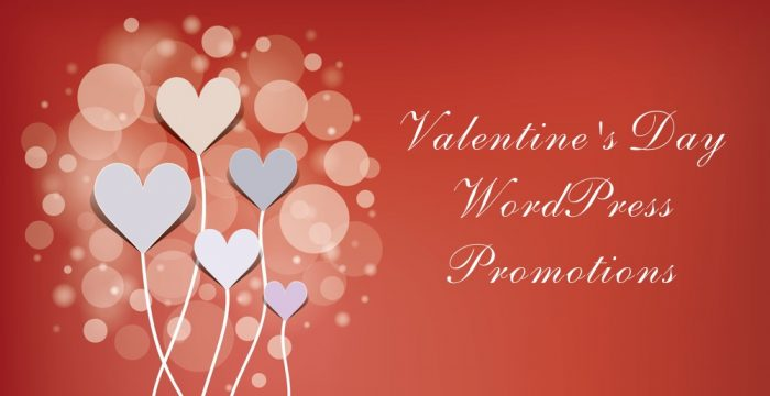 Valentine's Day WordPress Promotions