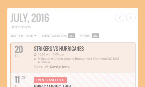 Five Top WordPress Event Calendar Plugins