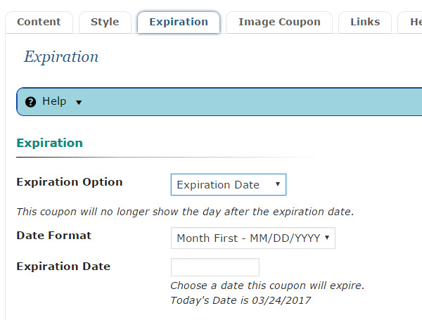 Expiration date codes in Perth