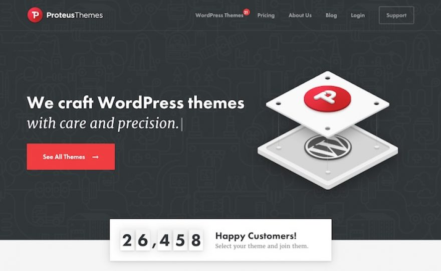 Proteus Themes – Beautifully Crafted Niche Themes for WordPress