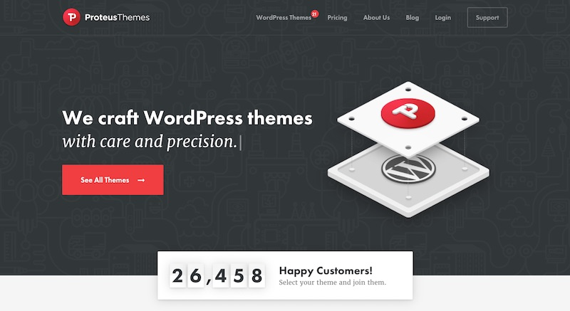 Proteus Themes Review - Beautifully Crafted Niche WordPress Themes