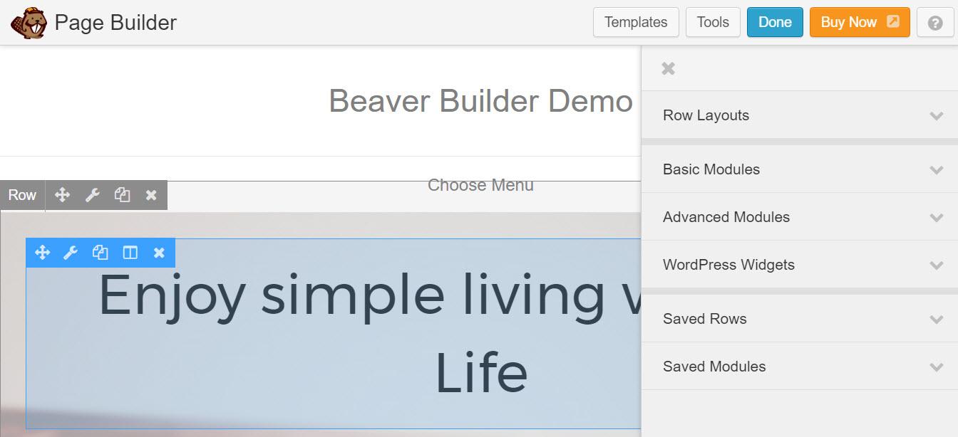 Beaver Builder Demo