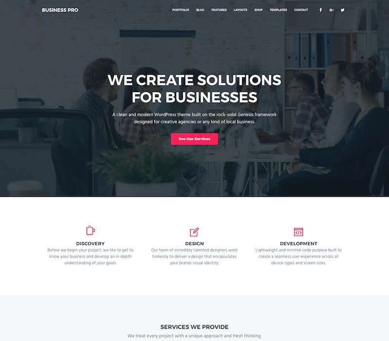 40 best wordpress themes for startups 2018 it has woocommerce support and leverages the built in core functionality of wordpress like custom logos custom header videos and images the new image and accmission Image collections
