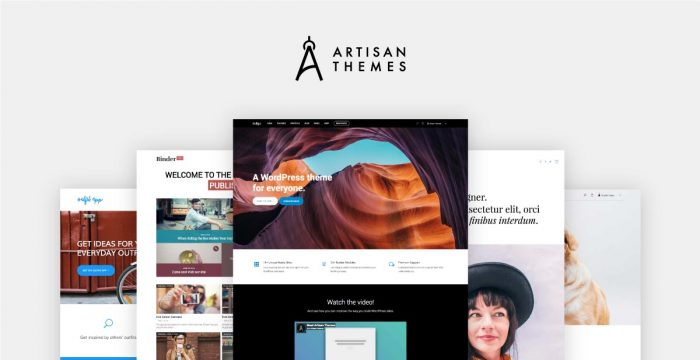 Artisan Themes: Beautiful Handmade WordPress Themes