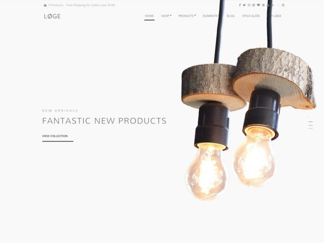 Løge – WooCommerce WordPress Theme