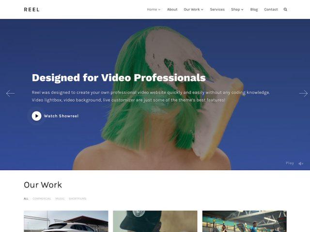 Reel – WordPress Video Theme