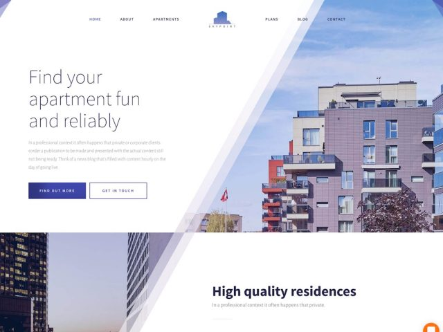 Skypoint – Real Estate WordPress Theme
