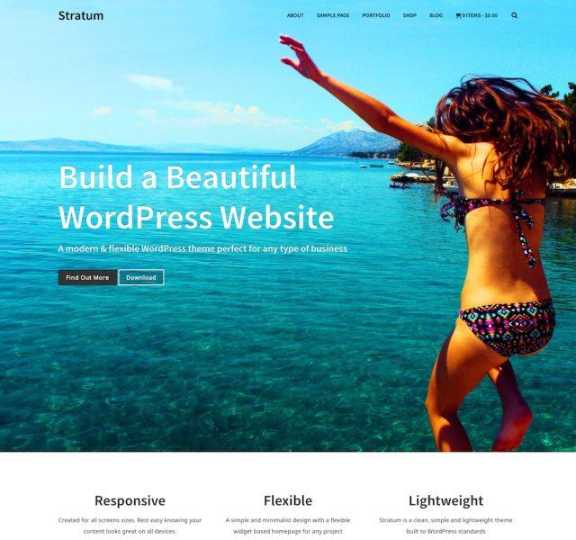 Stratum – Multipurpose WordPress Theme