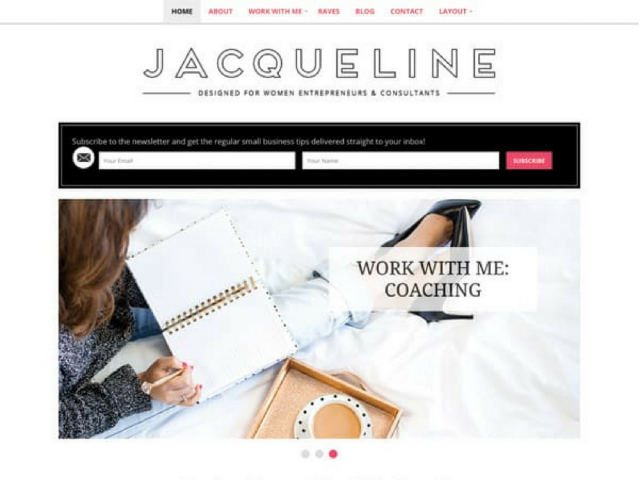 Jacqueline WordPress Theme