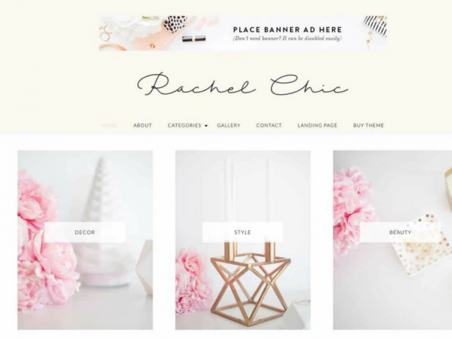 Rachel WordPress Theme