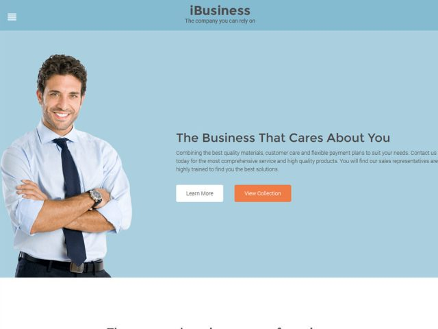 iBusiness – WordPress Business Theme