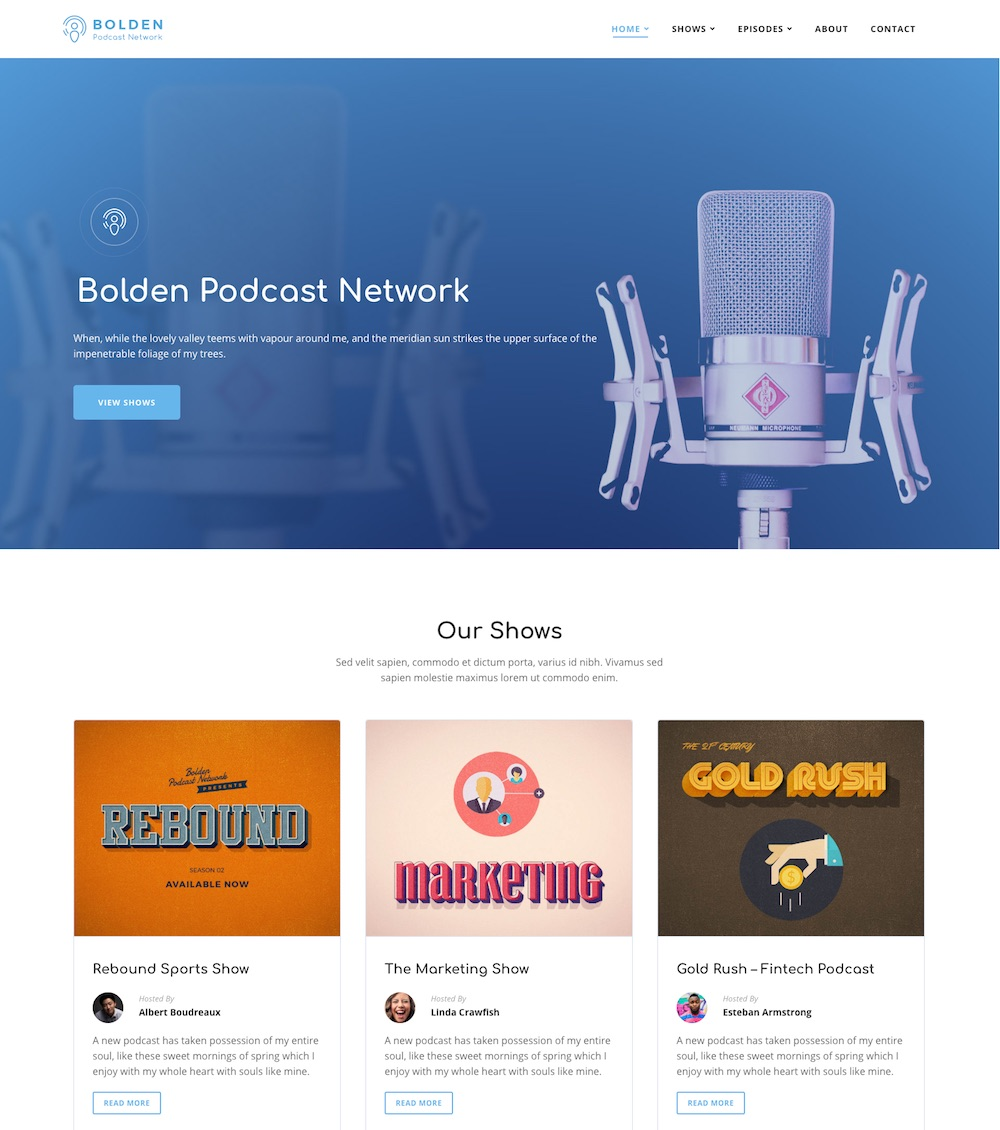 7 Best Podcast WordPress Themes for Podcasters in 2019
